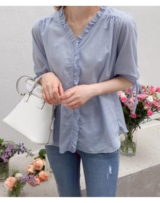 KL1866 韓國女裝襯衫 BLOUSE