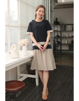KL1876 韓國女裝連身裙 OPS