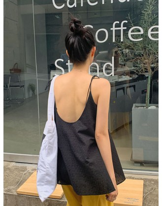 KL1878 韓國女裝吊帶背心 SLEEVELESS