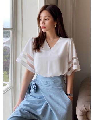 KL1891 韓國女裝上衣 TOP