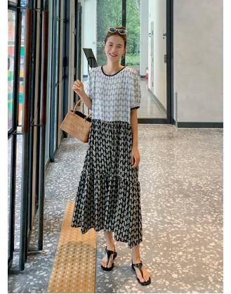KL1925 韓國女裝連身裙 OPS