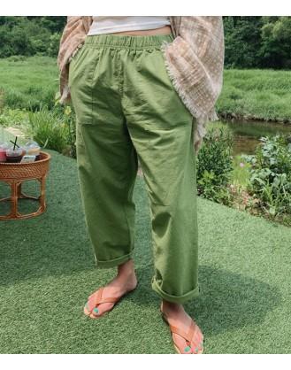 KL1930 韓國女裝長褲 PANTS