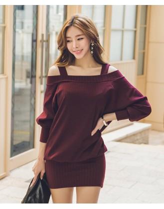 KL1691 韓國女裝連身裙 OPS