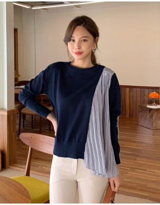 KL1776 韓國女裝針織上衣 SWEATER