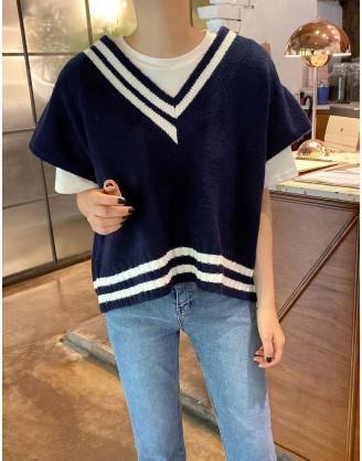 KL1779 韓國女裝針織背心 KNIT VEST