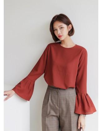 KL1785 韓國女裝襯衫 BLOUSE