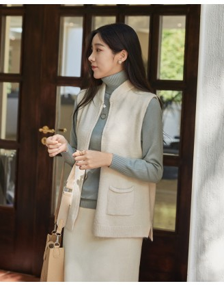 KL1787 韓國女裝針織上衣 KNIT VEST