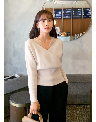 KL1805 韓國女裝針織上衣 SWEATER