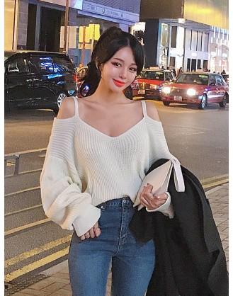 KL1806 韓國女裝針織上衣 SWEATER