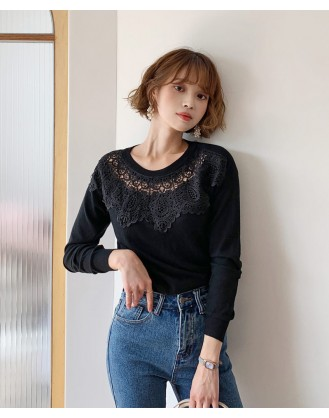 KL1821 韓國女裝針織上衣 SWEATER