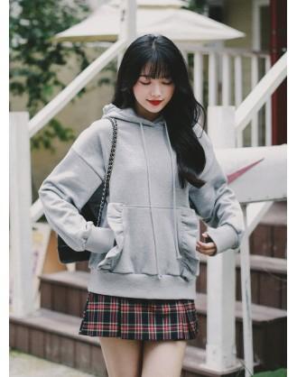 KL1823 韓國女裝上衣 HOODIE