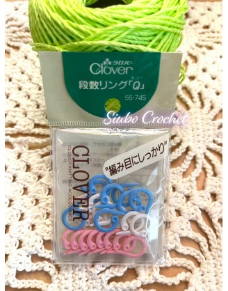AD0005 日本Clover☘️ Q型記號扣