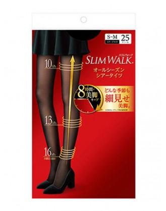 SW0017 SLIMWALK-美腿耐勾壓力絲襪褲 (黑色)