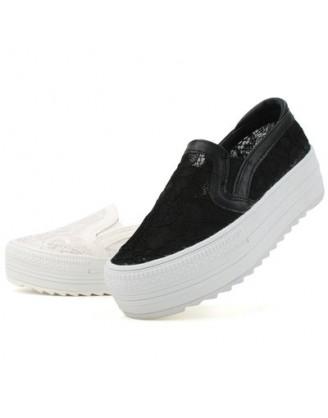 KS0019 韓國製厚底鞋 SLIPON