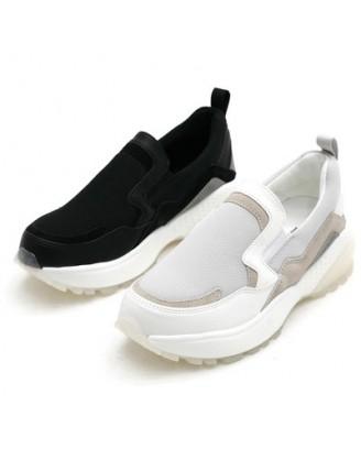 KS0020 韓國製厚底鞋 SLIPON