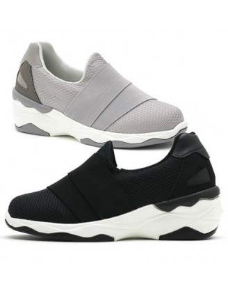 KS0022 韓國製厚底鞋 SLIPON