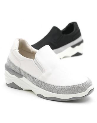 KS0024 韓國製厚底鞋 SLIPON