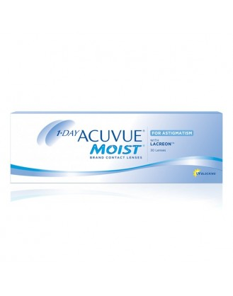 C0005 強生ONE DAY ACUVUE MOIST for ASTIGMATISM每日拋棄型散光隱形眼鏡
